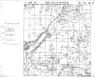 Birchwood Township - North, Washburn County 1952